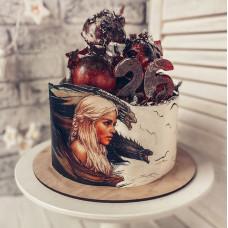 Торт Игра престолов мать драконов