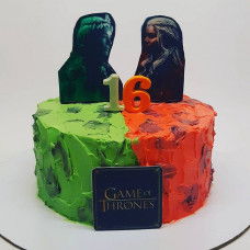 Торт поклонникам Игры престолов