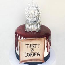 Торт трон из мечей
