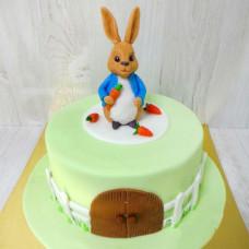 Торт с кроликом Питером