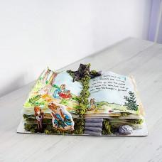 Торт по мотивам книги Кролик Питер