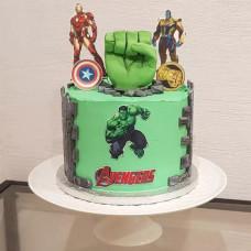 Торт с Мстителями