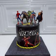 Торт Мстители для мальчика