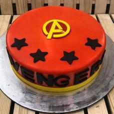 Торт знак Мстителей