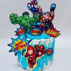 Детский торт Мстители