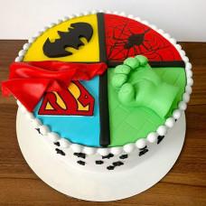 Торт в стиле Мстителей