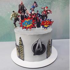 Торт герои Мстители