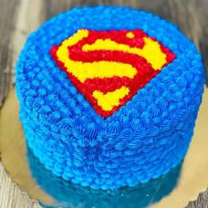 Торт супермен без мастики