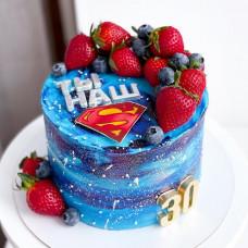Космический торт Супермен