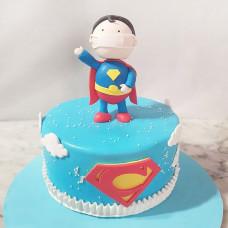 Торт Супермен в маске
