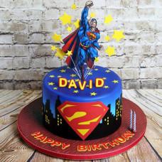 Торт Супермен детский