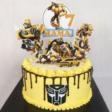 Торт трансформер на 5 лет