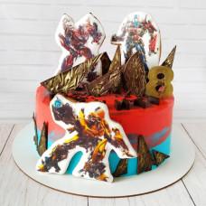 Торт на день рождения Трансформеры
