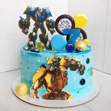 Торт мальчику на день рождения Трансформеры
