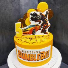Торт машина Бамблби