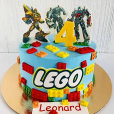 Торт Лего и Трансформеры