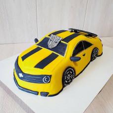 Торт в виде трансформера