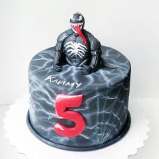 Торт с фигуркой Венома