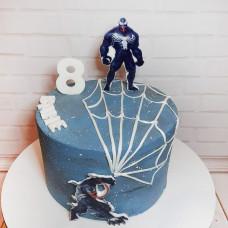 Торт Веном на 8 лет