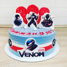 Торт с Веном на 9 лет