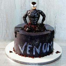Торт с Веномом для мальчика