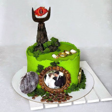 Свадебный торт в стиле Властелин колец