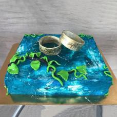 Торт на свадьбу на тему Властелин колец