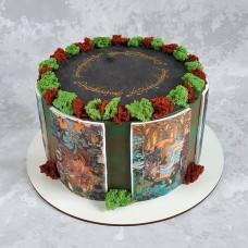 Торт с тематикой Властелин колец