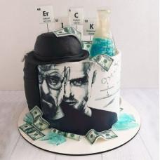 Торт химику на день рождения