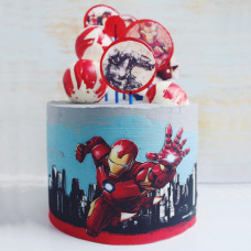 Торт Iron Man