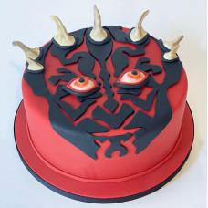 Торт в виде Дарт Мола