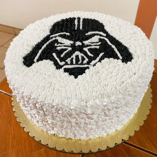 Кремовый торт Звездные войны