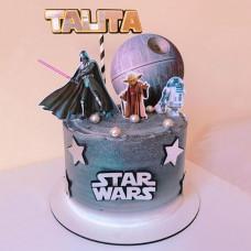 Торт со звездными войнами