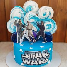 Торт для мальчиков Звездные войны