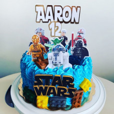 Торт Лего Звёздные войны