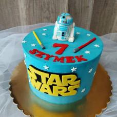 Торт со звездными войнами на день рождения
