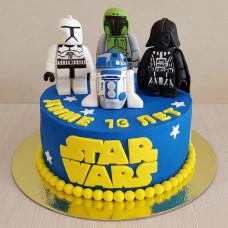 Торт Лего Star Wars
