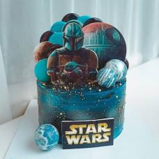 Торт на тему Звездные войны