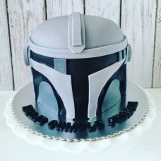 Торт Мандалорский шлем