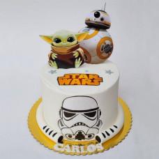 Торт Звездные войны на день рождения