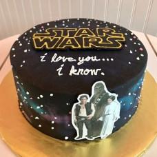 Торт Звездные войны для мужчины