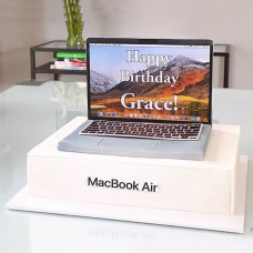 Торт ноутбук Apple Macbook Air