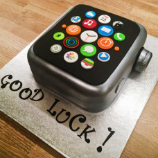 Торт смарт-часы Эппл