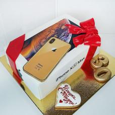 Торт Айфон на юбилей