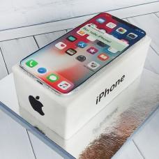 Торт в виде айфона