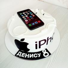 Торт айфон для мальчика
