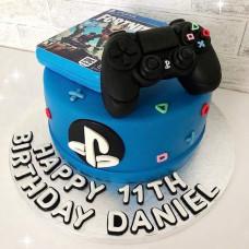 Торт с джойстиком геймеру