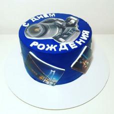Торт фотоаппарат на день рождения