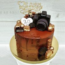Торт с фотоаппаратом фотографу