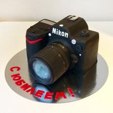 Торт фотоаппарт на юбилей